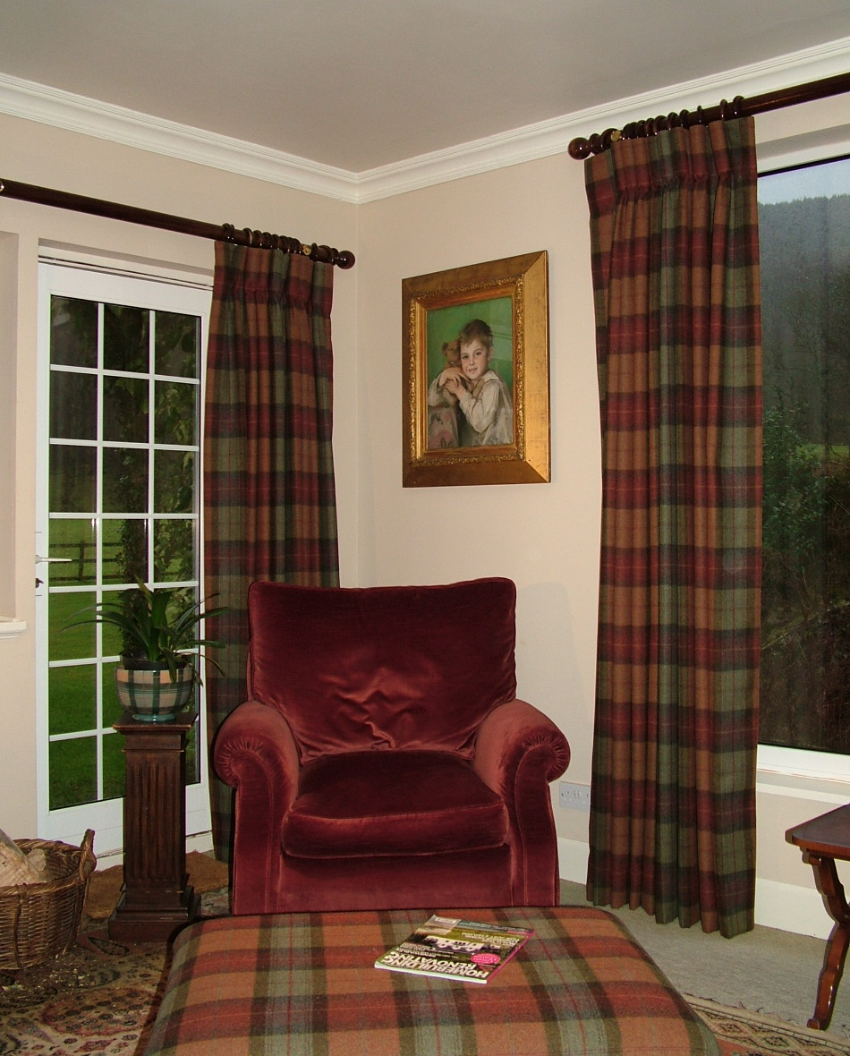 Plaid Curtains For Living Room Comfort Curtains Janes Blog